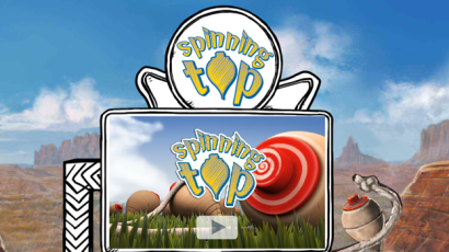 SpinningTop Webseite